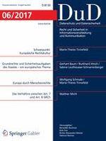 Steuerdaten im Fokus des Datenschutzes - Zeitschrift: Datenschutz und Datensicherheit - DuD > Ausgabe 6/2017
