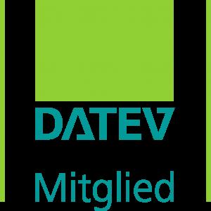 Logo DATEV Mitglied. DATEV eG bietet Software und IT-Dienstleistungen für Steuerberater, Wirtschaftsprüfer, Rechtsanwälte und deren Mandanten.